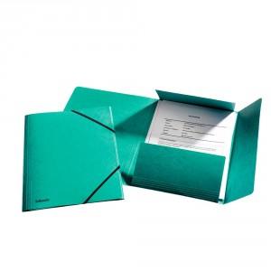 Elastikmappe Esselte A4 Grøn