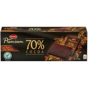 Chokolade Marabou Premium Mørk pk/21 stk